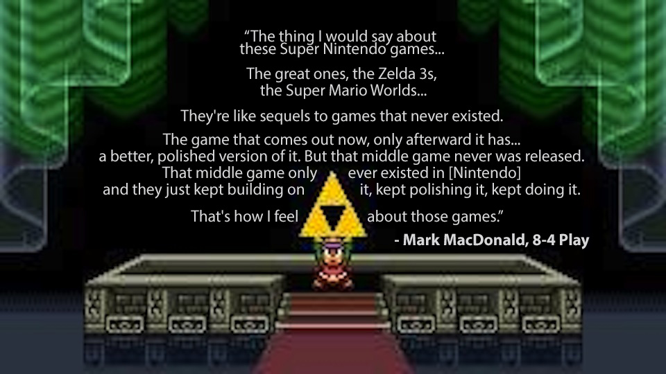 Zelda Quotes Alluring This Statement Nails What Was Great About The Super Nintendo's