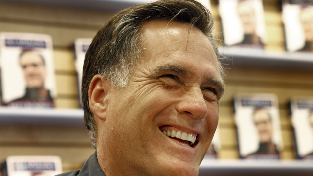 Conservative Site: Mitt Romney Is Winning, If You Just Change the Polls to Make Him Win