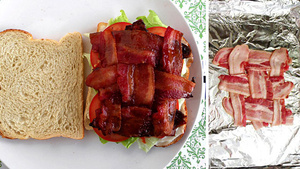 Get Bacon in Every Bite of Your BLT with the Basket Weaving Technique