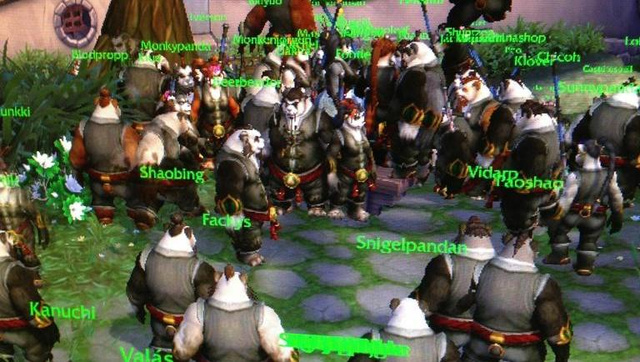 Pandas Everywhere, Two Minutes After Pandaria's Launch