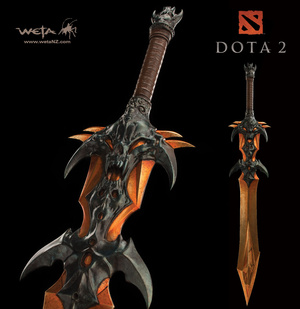 DOTA 2's Official Replica Weapons Are Blowing My Mind