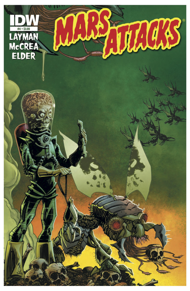 A first look at this week's issue of Mars Attacks