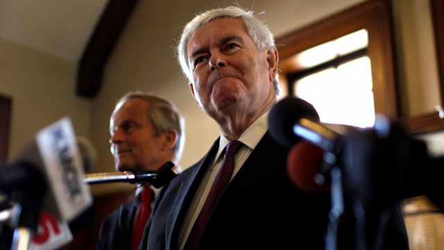 Vote Todd Akin, Obama Is Lying About Benghazi, and Other Shit Newt Gingrich Says
