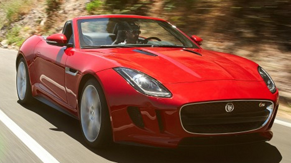 Jaguar F-Type Premature Picture-Leakification Gallery