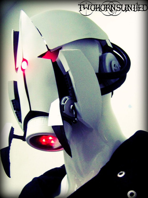 Turn Your Face Into A Portal Turret With This Badass Mask