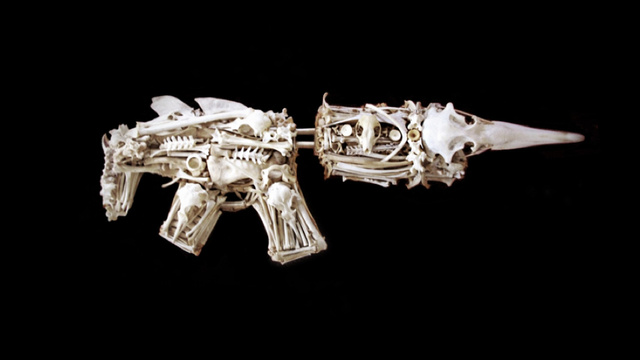 Guns Made from Bones (Yes, BONES)