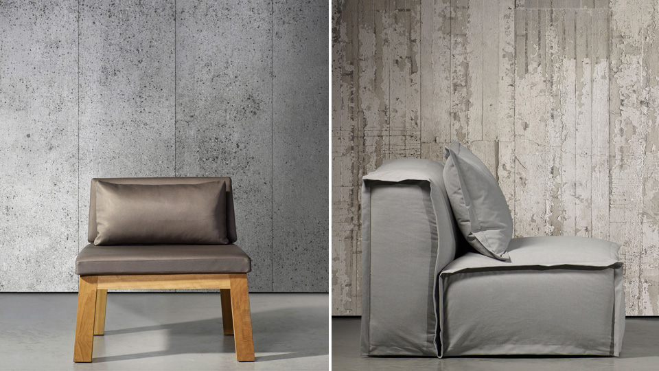 ... of wall space in a room it might actually just be cheaper to install a concrete bunker under your house and drag your living room furniture down there. & Concrete Wallpaper Perfects That Cosy Cold War Bunker Look   Gizmodo ...