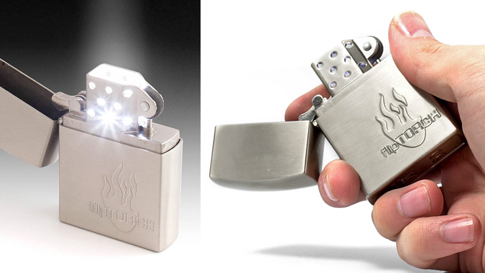 Click here to read Flip Torch Zippo: All the Light, None of the Burning