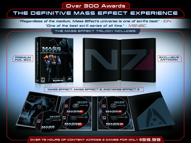 Mass Effect Trilogy Compilation Brings All Three Games to Xbox 360, PC This Fall; PS3 Version  Coming Later [Update]