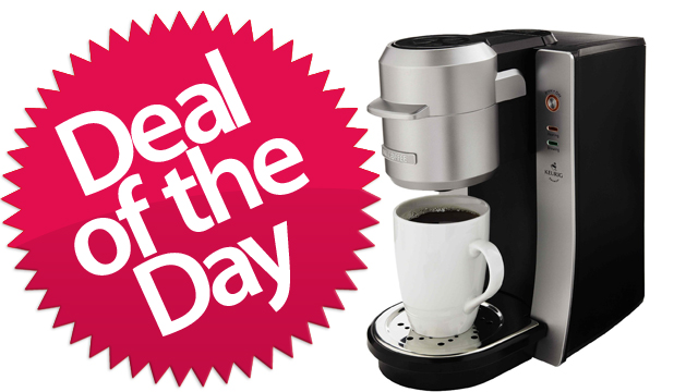 Click here to read This Mr. Coffee K-Cup Maker Is Your Convenience-Is-King Deal of the Day
