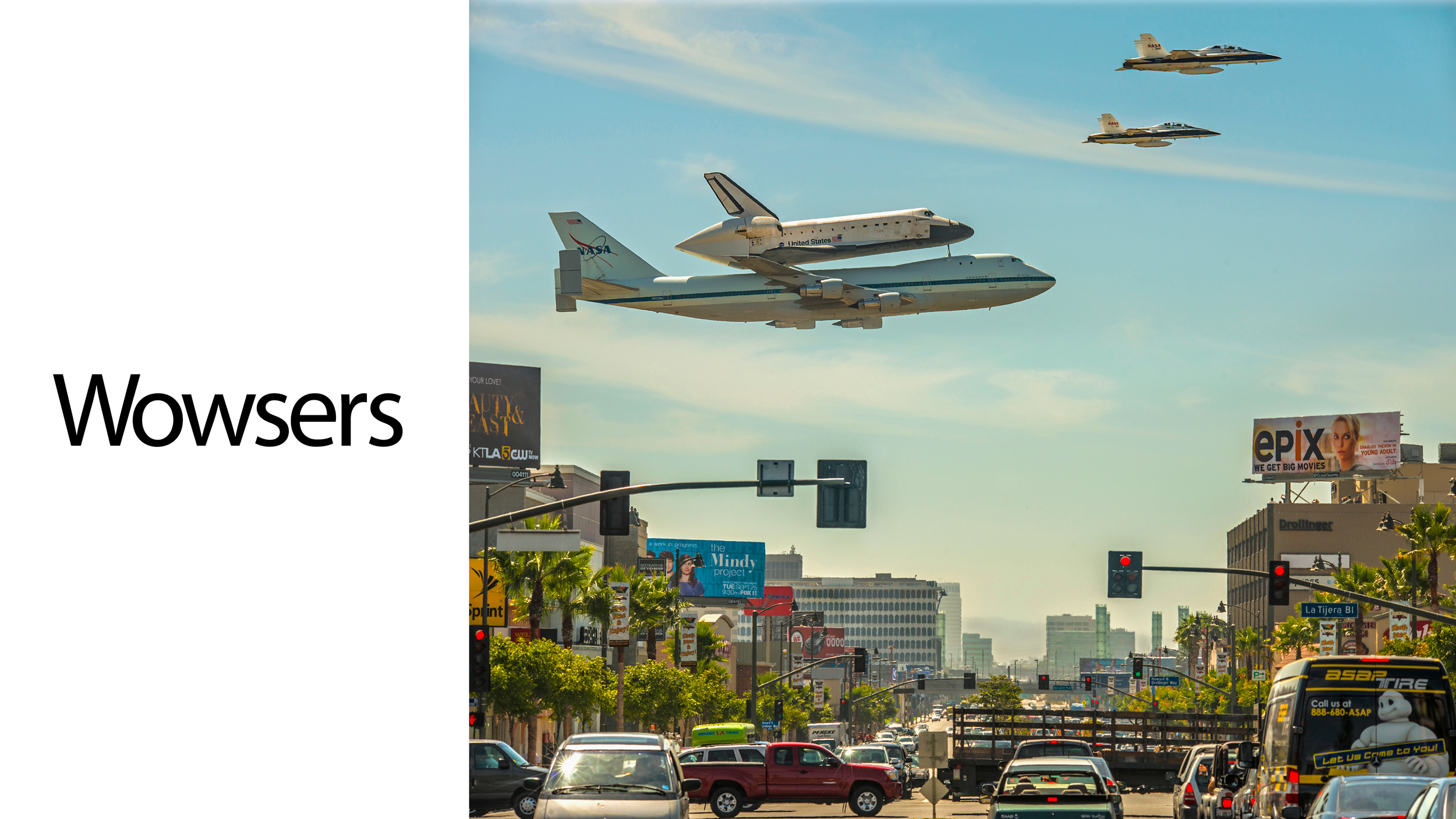 Is This The Most Stunning Shuttle Flyover Ever?