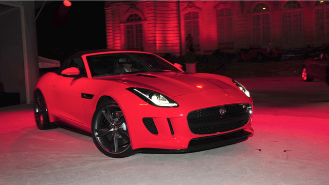 Jaguar F-Type: A 495 Horsepower V8-Powered Beauty