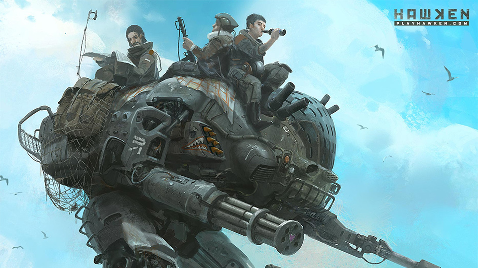 Click here to read Even <em>Hawken's</em> Drab Future Can Have Sunny Days