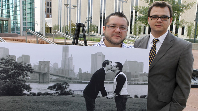 Gay Couple Sues Anti-Gay Group for Using Their Engagement Picture in Advertisement