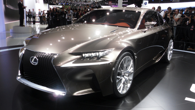 The Lexus LF-CC Concept Is The New Lexus IS