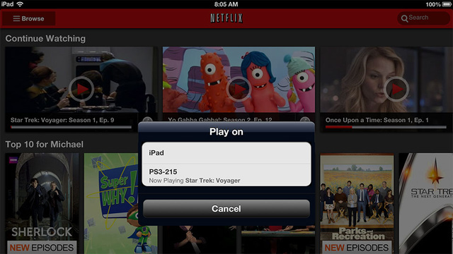 There's a PlayStation 3 Surprise in the New iOS and Android Netflix Apps
