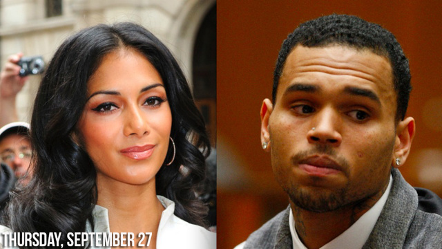 Nicole Scherzinger Wants You To Know Her Lips Were Near Chris Brown's But They Did Not Make Out