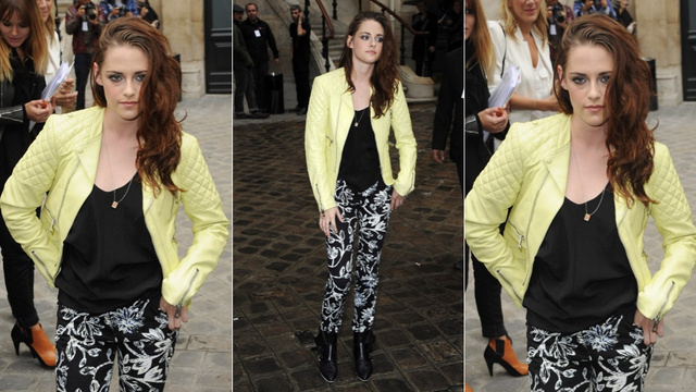Kristen Stewart Is Thrilled to Be Attending the Balenciaga Show in Paris