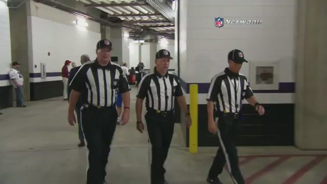 Tonight's Referee Crew Walked Out To A Standing Ovation In Balt…