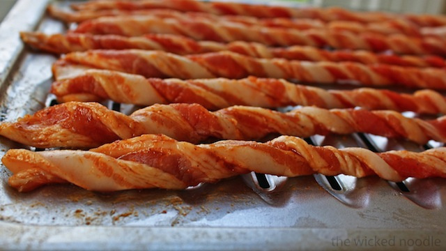 how to get bacon crispy in oven