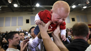 Babies Kind of Hate Mitt Romney