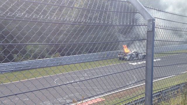 Surprise! Another Ferrari Catches Fire