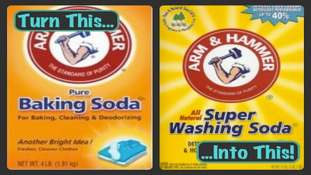 DIY Washing Soda