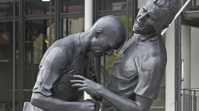 The Zinedine Zidane Headbutt Statue Is A Powerful Homage To French Defeat