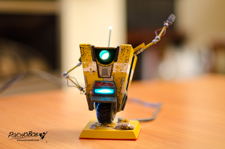 Claptrap Exits Borderlands, Enters Real World