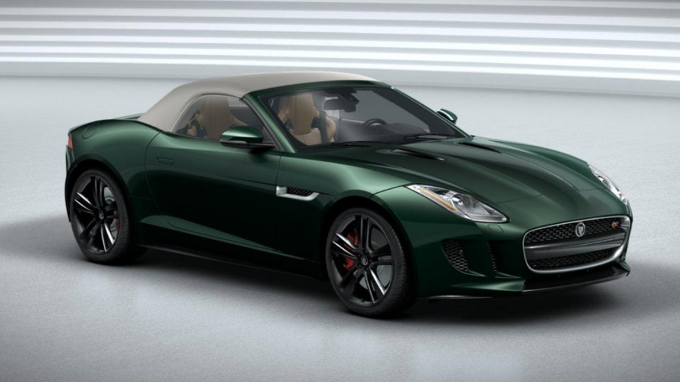 Jaguar f type coupe green - photo#12