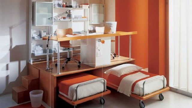 Put Your Desk Over Your Bed (and Other Space-Saving Workspace Solutions)