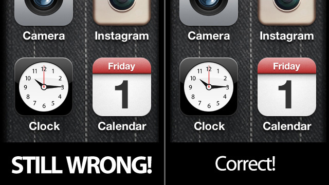November 1st and iOS 5 Hasn't Fixed the F*cking 1 On the iPhone's Calendar