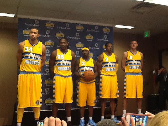 The Denver Nuggets Unveiled New Alternate Jerseys In Your Local…
