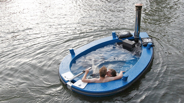 Nothing Will Ever Be As Relaxing As Cruising in a Hot Tub Tug Boat