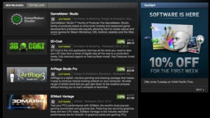 Non-Game Software Is Now Available On Steam