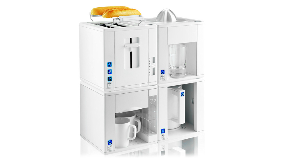 Space saving kitchen appliance cubes fit together like lego gizmodo india Dishwasher for small space gallery