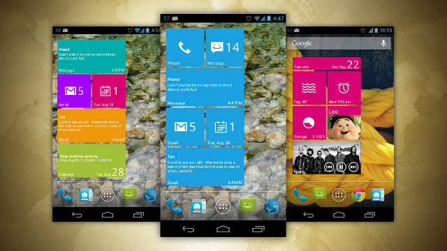 Real Widget Brings Windows' Tiled Interface on Your Android