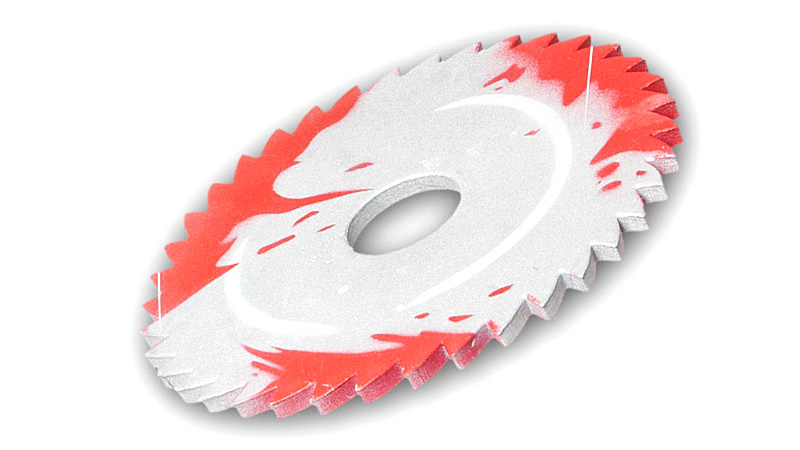 Bloody Sawblade Makes For An Awesome Children's Toy