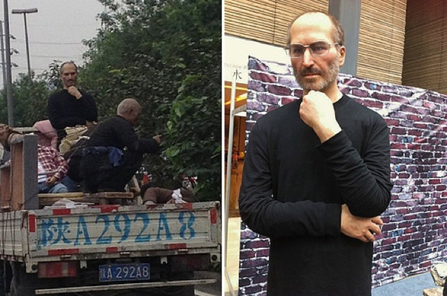 Steve Jobs Spotted in the Back of a Truck. In China. [Update]