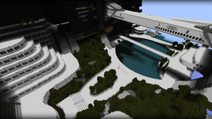 You Can Explore Mass Effect's Citadel To Your Heart's Content In This Painstaking Minecraft Build