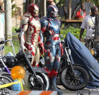 Iron Man 3 - Set Photos