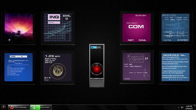 The HAL 9000 Desktop