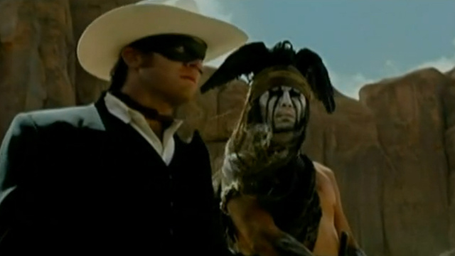 There Come a Time, Kemosabe, When Johnny Depp Speak Like 'Indian' in Lone Ranger Trailer