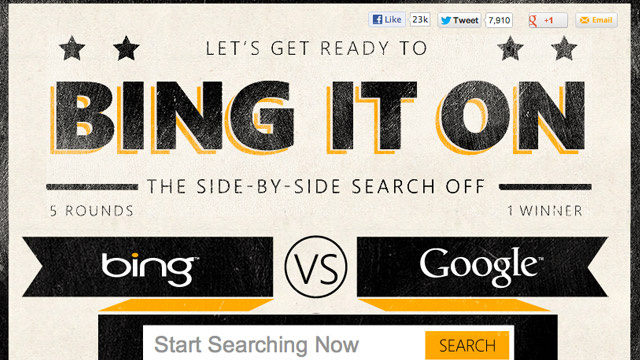"""Bing It On"" Shows You When Bing Is Most Useful"