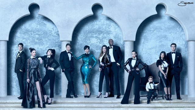 Scott Disick Bails on Kardashian Christmas Card Photo Shoot, Forever Altering the Face of Modern American Art