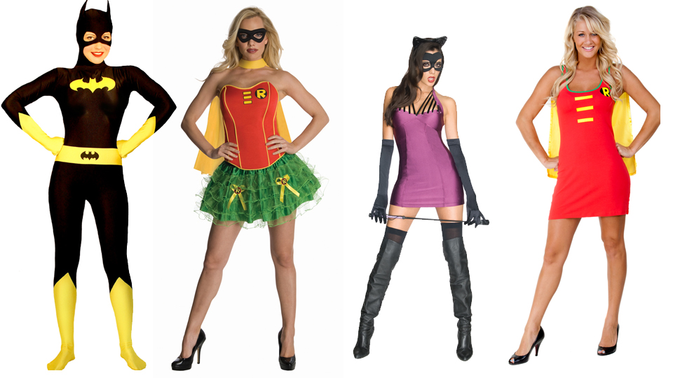 Batman Villains  sc 1 st  Nlyten - WordPress.com : batman and robin girl costumes  - Germanpascual.Com