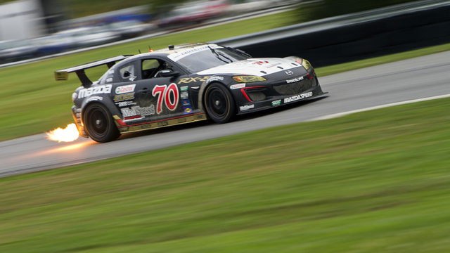 The Last Race Of Grand-Am's Flame-Spitting Mazda RX-8s