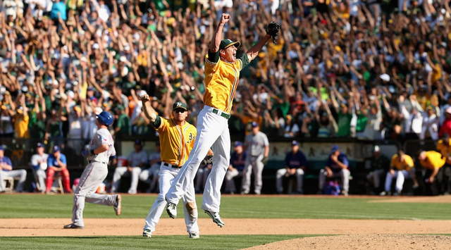 Holy Shit, The Athletics Just Won The AL West