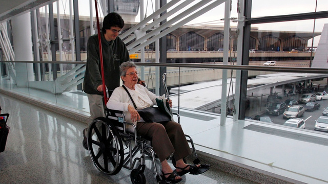 Fakers Cut Airport Lines by Requesting Wheelchairs They Don't Need