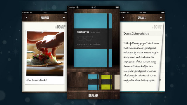 Click here to read Meernotes Puts the Look and Feel of a Moleskine on your iPhone